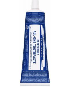 Dr. Bronner's All-One Peppermint Toothpaste, 5 oz.