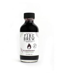 Fire Brew Elderberry with Fresh Sage Health Tonic
