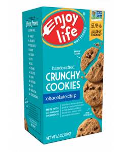 Enjoy Life Crunchy Gluten-Free Chocolate Chip Cookies, 6.3 oz.