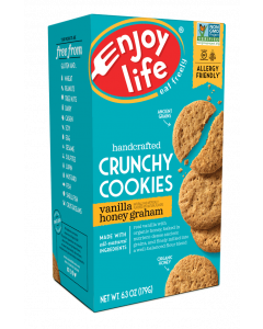 Enjoy Life Crunchy Vanilla Honey Graham Cookies, 6.3 oz.