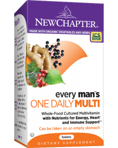 New Chapter Every Man's One Daily Multivitamin, 48 Tablets