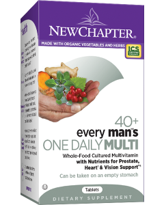 New Chapter Every Man's One Daily 40+ Multivitamin, 72 Tablets