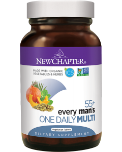 New Chapter Every Man's One Daily 55+ Multivitamin, 72 Tablets