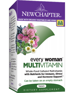 New Chapter Every Woman's One Daily Multivitamin, 48 Tablets