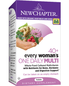 New Chapter Every Woman's One Daily 40+ Multivitamin, 72 Tablets