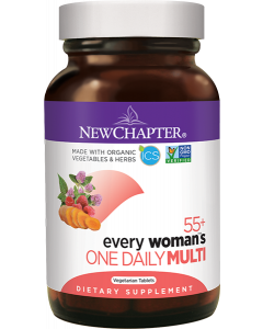 New Chapter Every Woman's One Daily 55+ Multivitamin, 48 Tablets