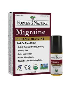 Forces of Nature Migraine Pain Management, 4 ml. Rollerball