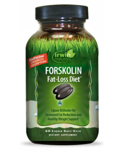 Irwin Naturals Forskolin Fat-Loss Diet, 60 Softgels