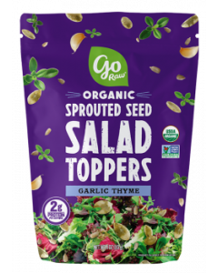 Go Raw Organic Sprouted Seed Salad Toppers, Garlic Thyme, 4 oz.