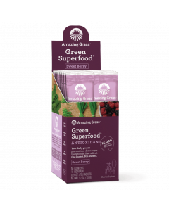 Amazing Grass Antioxidant Sweet Berry Green Superfood, Single Serving Stick