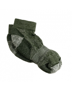 Maggie's Organic Wool Urban Trail Ankle Sock, Green Color