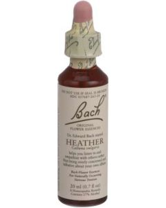 Bach Heather Homeopathic Remedy, 20 ml