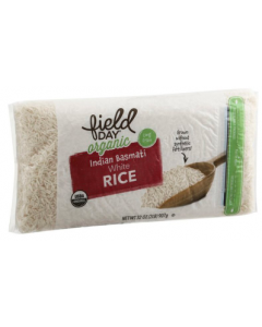 Field Day Organic Indian Basmati White Rice, 32 oz.