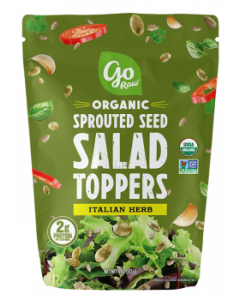 Go Raw Organic Sprouted Seed Salad Toppers, Italian Herb, 4 oz.