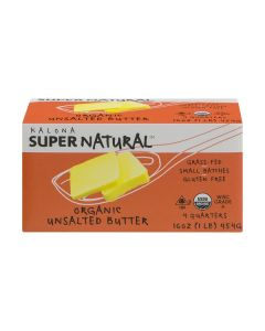 Kalona Unsalted Butter, Pasture-Grazed, 1 lb.