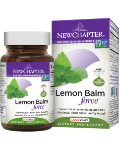 New Chapter Lemon Balm Force, 30 Capsules