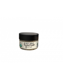 Eco Lips Lip Scrub Brown Sugar, 0.5 oz.