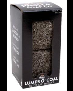 Pacha Lumps O' Coal Detox Salt Blocks, 10 oz.
