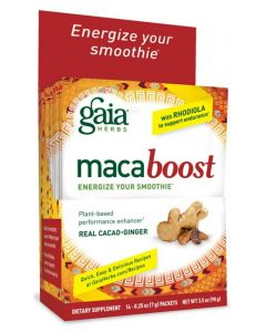 Gaia MacaBoost Cacao-Ginger, Single Serving 0.25 oz.