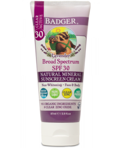 Badger Clear Lavender Sunscreen Cream