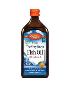 Carlson The Very Finest Fish Oil, Orange Flavor