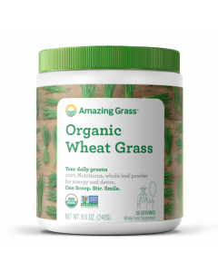 Amazing Grass Organic Wheat Grass, 8.5 oz.