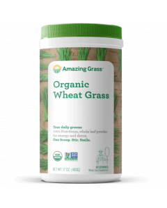Amazing Grass Organic Wheat Grass, 17 oz.