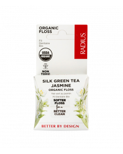 Radius Organic Floss, Silk Green Tea Jasmin