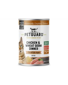 Pet Guard Chicken & Wheat Germ Dinner
