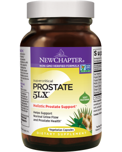 New Chapter Supercritical Prostate 5LX, 120 Capsules