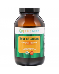 Pure Planet Organic Best of Greens, 150g