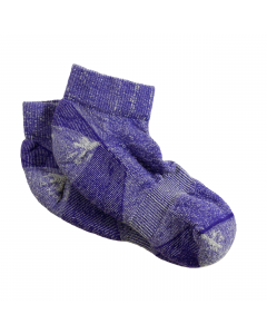 Maggie's Organic Wool Urban Trail Ankle Sock, Purple Color