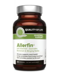 Quality of Life Allerfin, 60 Capsules