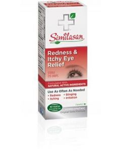 Similasan Redness And Itchy Eye Relief, .33 fl.oz.