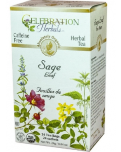 Celebration Herbals Sage Leaf Tea, .84 oz.