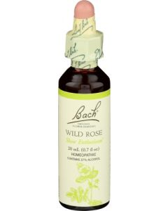 Bach Wild Rose Show Enthusiasm Homeopathic Remedy, 20 ml