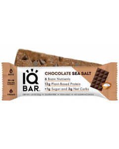 IQBAR Chocolate Sea Salt Protein Bar