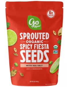 Go Raw Sprouted Spicy Fiesta Seeds Bag