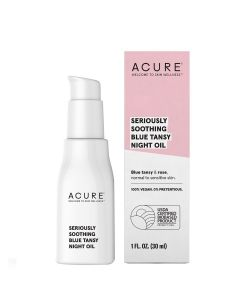 Acure Seriously Soothing Blue Tansy Night Oil, 1 fl. oz.