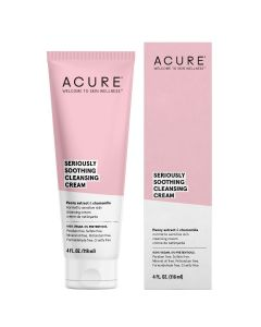 Acure Seriously Soothing Cleansing Cream, 4 fl. oz.