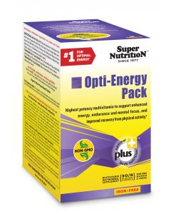Super Nutrition Opti-Energy Pack, Iron-Free