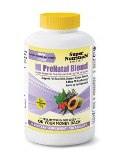 Super Nutrition Prenatal Blend