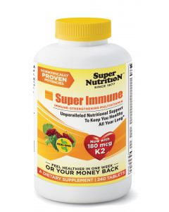 Super Nutrition Super Immune Multi with Iron