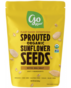 Go Raw Sprouted Sunflower Seeds Bag