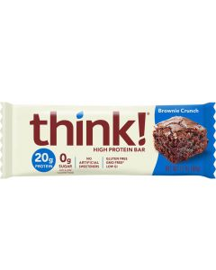 Think! Brownie Crunch High Protein Bar - Package