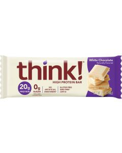 Think! White Chocolate High Protein Bar - Pacakge