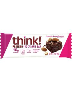 Think! Chocolate Almond Brownie Protein + 150 Calorie Bar