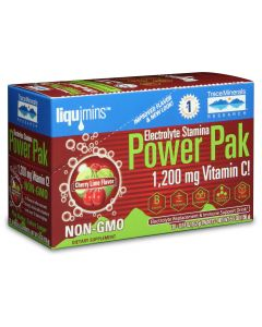 Trace Minerals Electrolyte Stamina Power Pak, Cherry Lime Flavor, 30-Packets