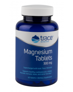 Trace Minerals Magnesium Tablets, 60 Tablets