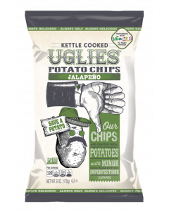 Uglies Kettle Cooked Potato Chips, Jalapeno Flavor